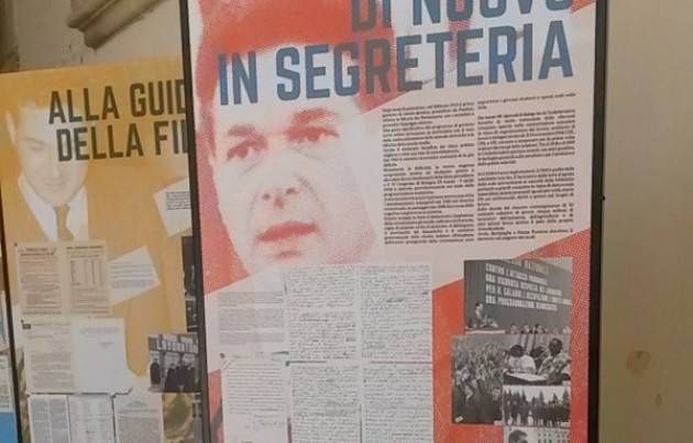 Luciano lama Ventesimo anniversario sua morte. Il ricordo della Cgil e delle istituzioni