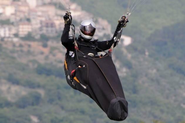 Padre e figlio campioni d'Italia ex aequo di volo in parapendio