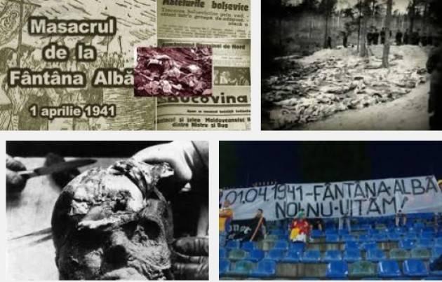 La mostra sul massacro Fantana Alba  (1 aprile 1941) presto in Lombardia