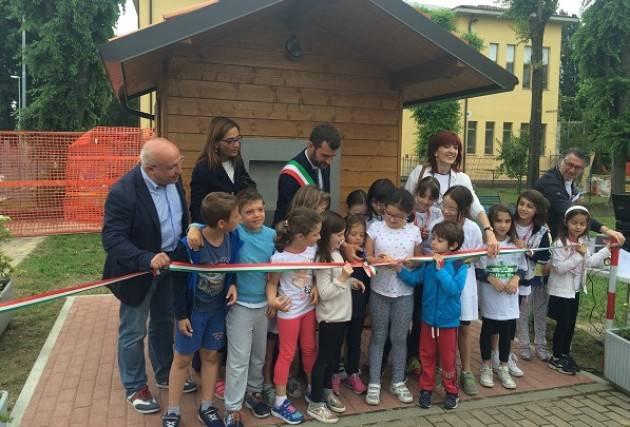 Padania Acque inaugura casa dell'acqua a Capergnanica