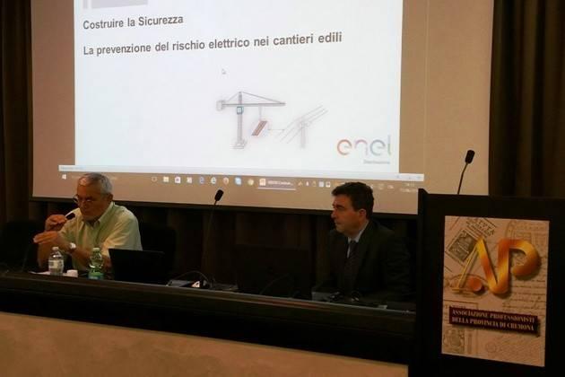 Cremona, Enel e l'Associazione Professionisti insieme per la sicurezza