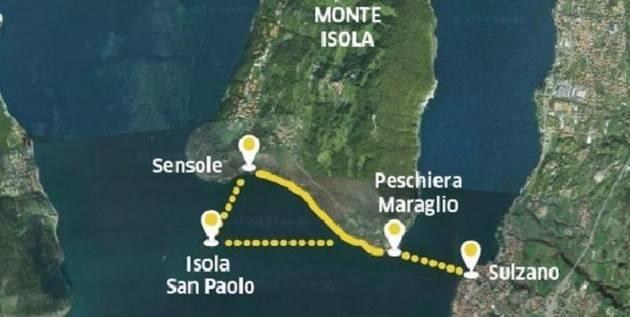 Accadde Oggi 18 giugno 2016 – Italia: Viene aperta l'installazione The Floating Piers sul Lago d'Iseo ad opera di Christo