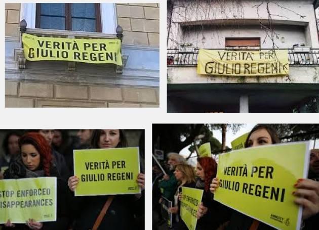 Amnesty. A cinque mesi dalla scomparsa di Giulio Regeni serve maggiore impegno della Farnesina