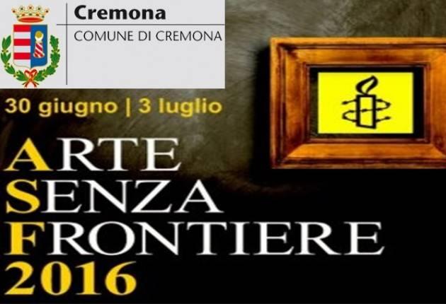 Amnesty Gruppo 288 di Cremona organizza mostra 'Arte Senza Frontiere'