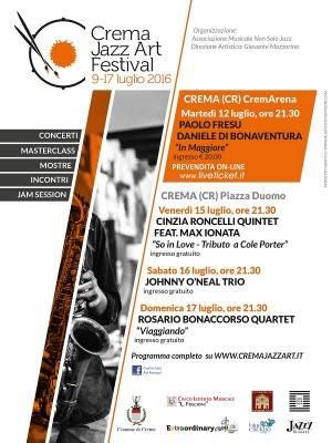 I big della musica alla 2° edizione del Crema Jazz Art Festival