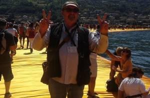 Superbe !!!!  Ho camminato sulle  acque sopra la passerella di Christò sul lago d'Iseo di Gian Carlo Storti (Cremona)