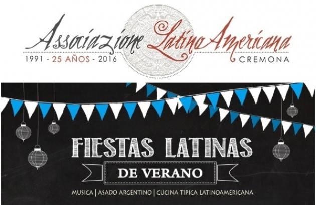 Associazione Latino Americana organizza FESTA D'ESTATE Argentina