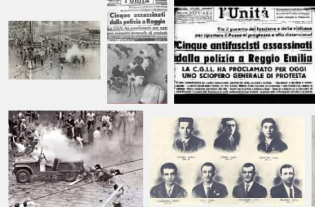 AccaddeOggi  #7luglio 1960  I morti di Reggio Emilia (Canzone e Video)