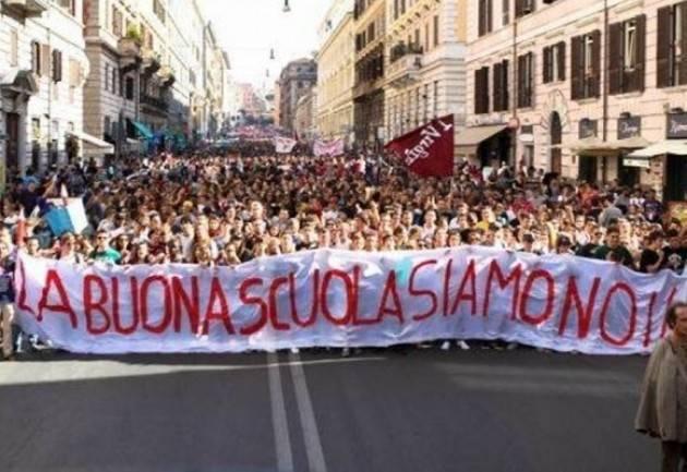 La telefonata con Valenti Laura  Referendum scuola depositate due milioni di firme