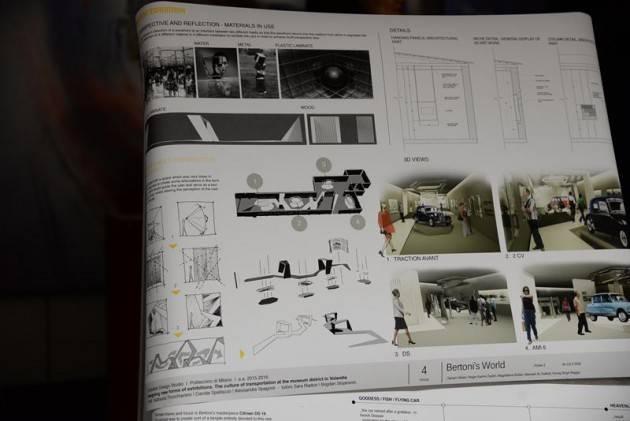 I progetti degli studenti del politecnico per nuova area for Politecnico design