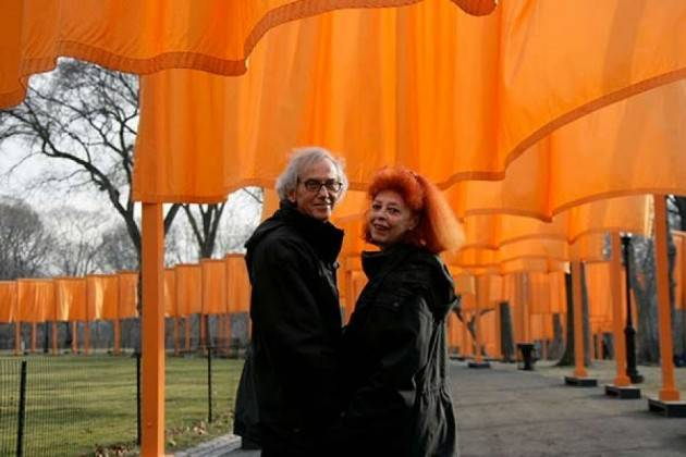 Visite speciali mostra CHRISTO AND JEANNE-CLAUDE WATER PROJECTS