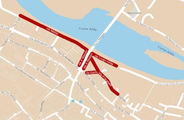 Lodi - Progettata una nuova ZTL in prossimità del ponte sull'Adda