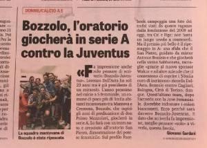 Bozzolo La squadra femminile di calcio giocherà in serie A con la Juventus