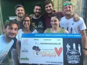 Cremona Gli Amici di Robi donato 2.500 euro a Famiglia Sempre Africa Onlus che opera in Kenya
