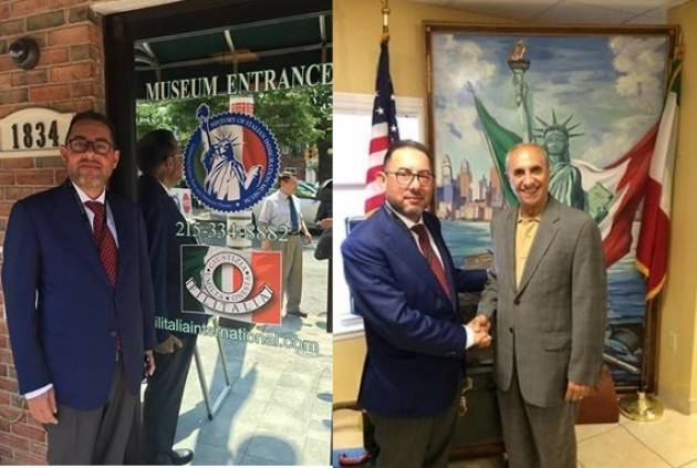 Philadelphia Gianni Pittella incontra Pasquale Nestico (Filitalia) e visita Italian Immigration Museum