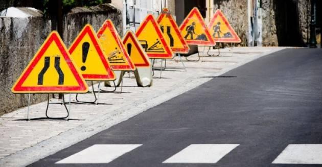 Piano asfaltature 2016: le prime immagini dei lavori in corso