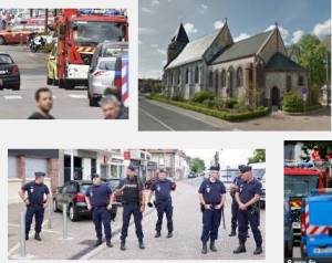(Video) L'ISIS colpisce in Francia la chiesa cattolica Reazioni nel mondo