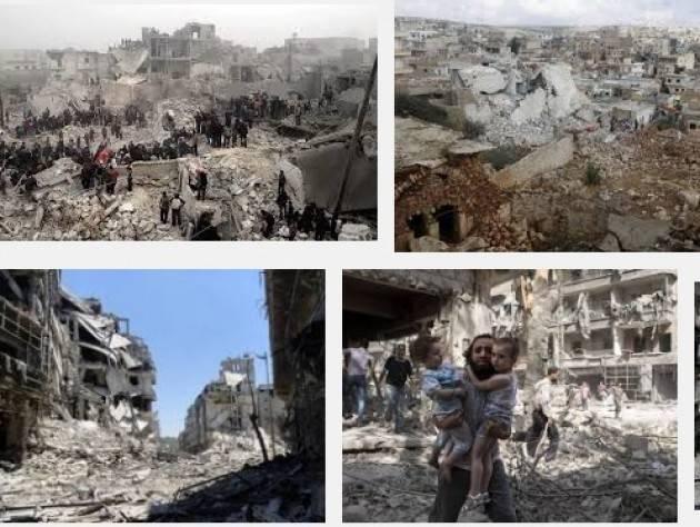 Amnesty Su Aleppo Siria: incombe catastrofe umanitaria