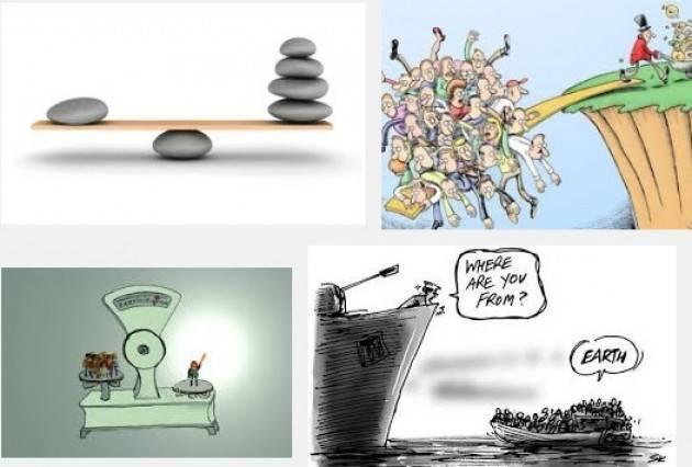Riflessione sulla disuguaglianze: L'ascensore si è bloccato (Interviste radio)