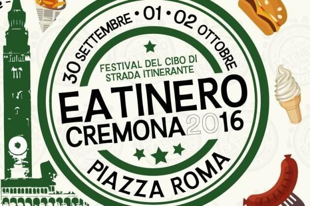 In Cremona, in autunno torna Eatinero, il festival del cibo di strada itinerante