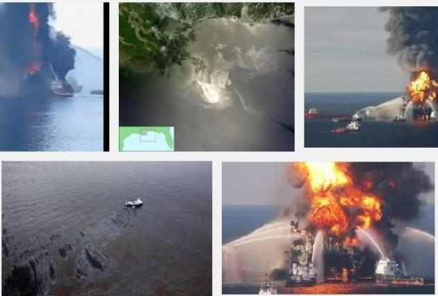 AccaddeOggi  #4agosto 2010 – Golfo del Messico Chiuso petrolio in mare dalla piattaforma ' Deepwater Horizon'