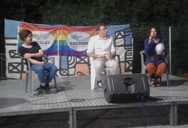 (Video) Unioni Civili  Anno Zero Intervento di Gabriele Piazzoni (ArciGay) all'Arci Festa 2016 Cremona