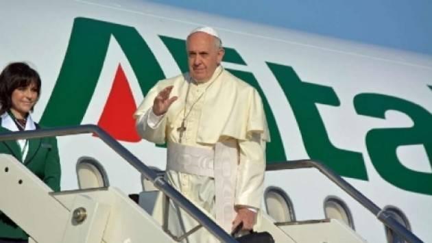 Papa Francesco: Siamo in guerra, non di religione ma del profitto di Arnaldo de Porti