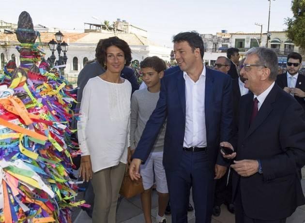 Bene Renzi in Brasile, rafforzare rapporti tra Italia e Mercosur - di Eugenio Sangregorio