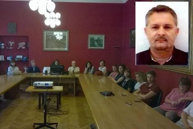 A Cremona Intervista (tel)  Gabriele Zambelloni RSU della Camera Commercio Stato di agitazione dei lavoratori
