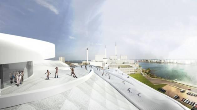 Una pista da sci sul tetto dell'inceneritore di Copenaghen ? di Benito Fiori (Cremona)