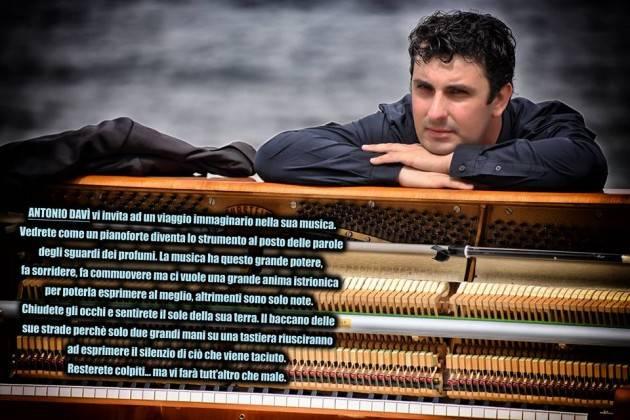 Ferragosto a Luino Concerto pianistico di Antonio Davi 'Piano Fusion' 15 agosto ore 21.30