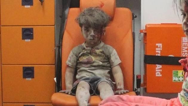 Omran, simbolo della tragedia Siriana, Dio solo sa! Di Giorgino  Carnevali