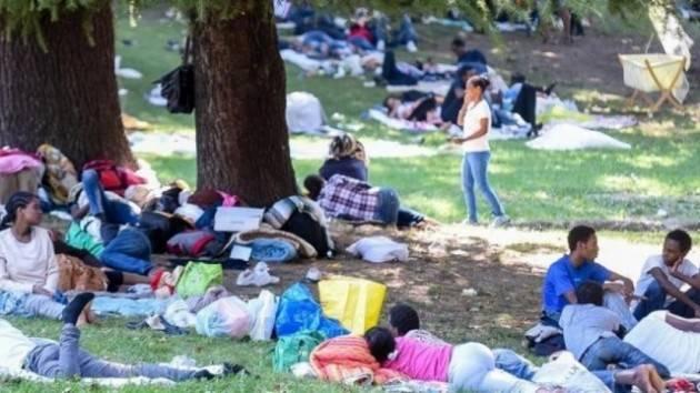 Pianeta migranti. Lettera alla città dei rifugiati accampati a Como.
