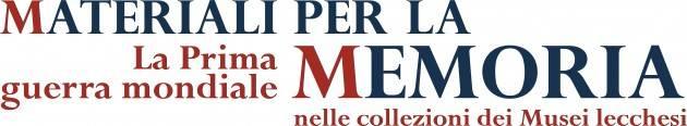 Il 1° settembre la presentazione del catalogo di Materiali per la Memoria