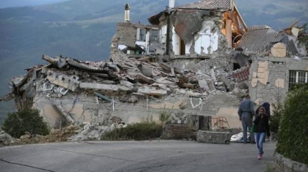Terremoto La solidarietà dei Verdi Italiani con le popolazione colpite