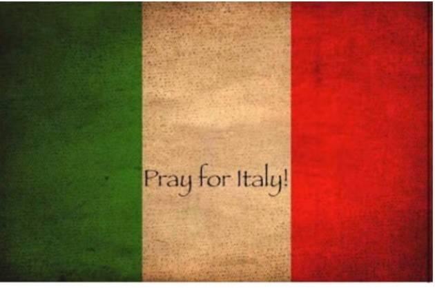 Il Terremoto di agosto  La solidarietà all'Italia dal mondo