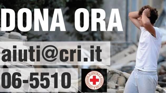 Solidarietà Terremoto L'appello della Croce Rossa Italiana dal gruppo giovani di Cremona