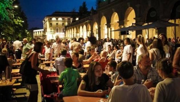 Bergamo - 172.069,54 euro raccolti sul Sentierone grazie all'Amatriciana Solidale
