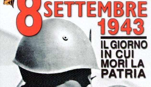 Commemorazione 8 Settembre 1943 : data drammatica per Cremona di Giorgio  Carnevali