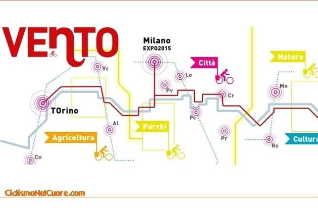 Cremona, il 21 settembre la città sarà tappa di VENTO Bici Tour 2016