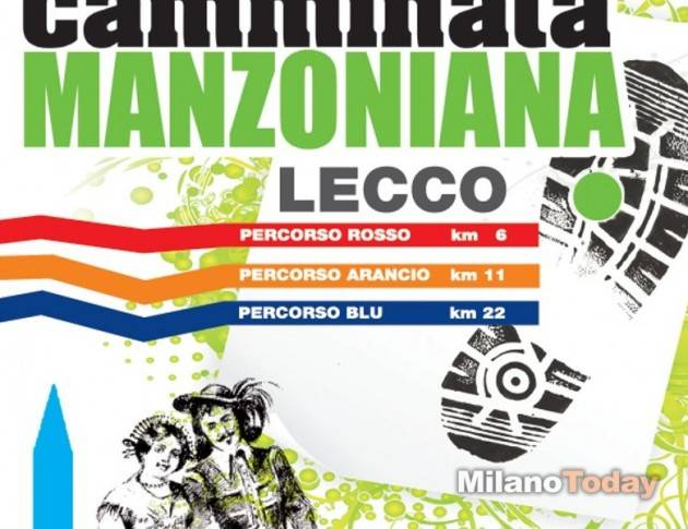 Lecco - Domenica 18 settembre tutti alla Camminata Manzoniana