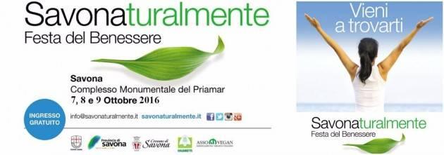 Savonaturalmente 2016: dal 7 al 9 ottobre torna la grande festa del benessere
