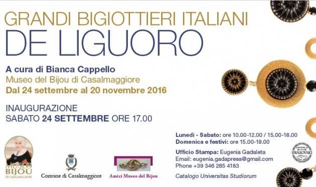 Museo Bijou Casalmaggiore Grandi Bigiottieri Italiani. De Liguoro