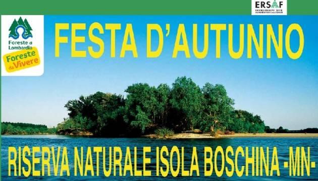 Festa d'autunno - Riserva Naturale Isola Boschina