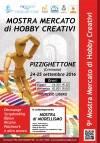 Pizzighettone Sabato 24 e Domenica 25 settembre 9° Mostra Mercato Hobby nelle mura