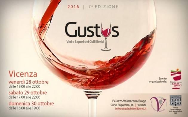 Gustus: a Vicenza il vino si fa rock