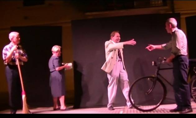 Anpi Cremona ripropone video  Rappresentazione teatrale eventi 9 settembre 1943  in città