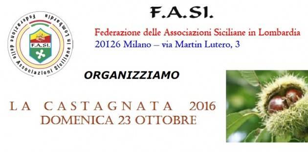 La FASI organizza la Castagnata 2016 in località Capriolo (Bs)