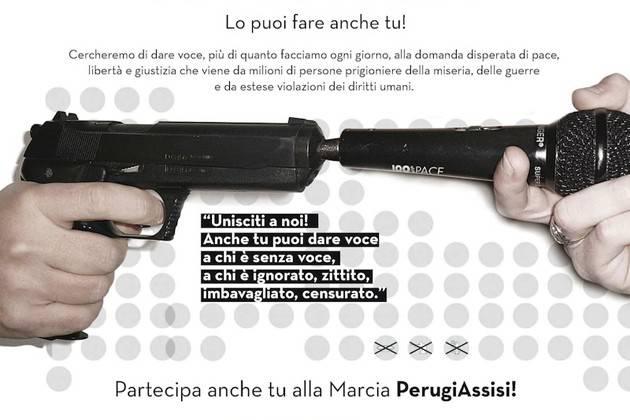 Anche Cremona aderisce alla Marcia Perugia-Assisi: 'Diamo voce alla pace'