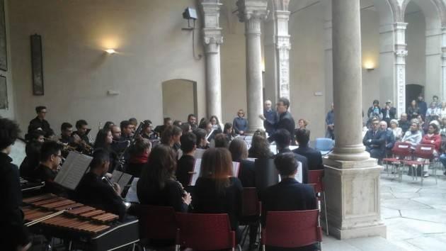 Nella prestigiosa cornice di Palazzo Fodri Uliana Garoli ha chiuso la festa della Fondazione Città di Cremona